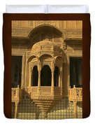 Skn 1320 Carving Splendor Duvet Cover