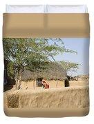 Skn 1401 Rural Background Duvet Cover