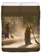 Skn 1690 Twin Sweepers Duvet Cover