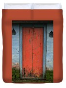 Skc 0401 Closed Red Door Duvet Cover