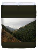 Skc 0763 Dry Green Landscape Duvet Cover