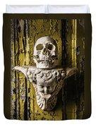 Skull And Angel Duvet Cover