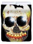 Skull Art In A Surrealism Definition Duvet Cover