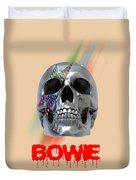 Skull Bowie  Duvet Cover