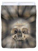 Skull - Fear And Trembling  Duvet Cover