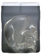 Skull Rock Crystal Duvet Cover