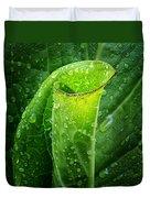 Skunk Cabbage Square Duvet Cover