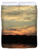 Sky And Sea Duvet Cover