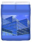 Sky Blue Mirror Duvet Cover