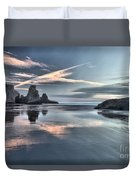 Sky Crosses Duvet Cover