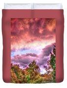 Sky Fire 2 Duvet Cover
