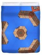 Sky Fortress Progression 6 Duvet Cover