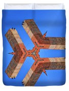 Sky Fortress Progression 8 Duvet Cover