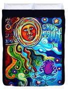 Sky Fruit Duvet Cover