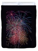Sky Full Of Fireworks Duvet Cover