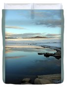 Sky Lake Duvet Cover