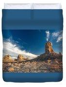 Sky Masters - Trona Pinnacles Duvet Cover