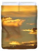 Sky Of Snakes Duvet Cover