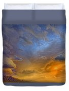 Sky Painting Photo 3621 Duvet Cover