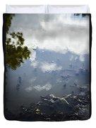 Sky Reflections Duvet Cover