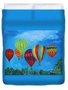 Sky Skittles Duvet Cover