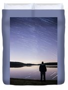 Sky Trails Duvet Cover