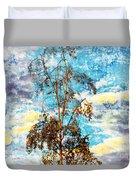 Sky Tree Duvet Cover