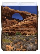 Skyline Arch - Arches National Park Duvet Cover