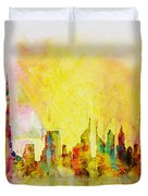 Skyline Collage  Duvet Cover
