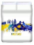 Skyline London England  Duvet Cover