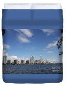 Skyline Miami Duvet Cover