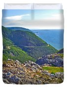 Skyline Trail And Road Through Cape Breton Highlands Np-ns Duvet Cover