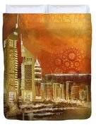 Skyline View  Duvet Cover