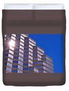 Skyscraper Photography - Downtown - By Sharon Cummings Duvet Cover