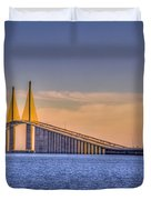 Skyway Bridge Duvet Cover
