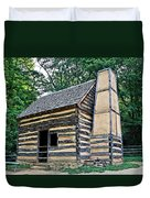 Slave Cabin Duvet Cover