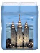 Slc Temple Blue Duvet Cover