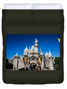 Sleeping Beauty's Castle Duvet Cover