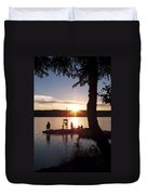 Sleeping Giant Sunset Duvet Cover