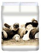 Sleeping Soldiers Duvet Cover