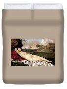 Sleeping Venus Duvet Cover