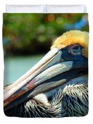 Sleepy Pelican Duvet Cover