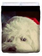 Sleepy Santa Duvet Cover