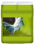 Slice Of Leaf Duvet Cover