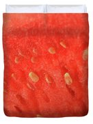 Slice Of Watermelon (detail) Duvet Cover