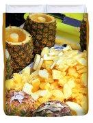 Sliced Pineapple Duvet Cover