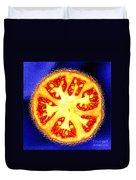 Sliced Tomato Duvet Cover