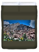 Slide Rock Canyon Duvet Cover