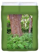 Slippery Elm And Ferns Duvet Cover