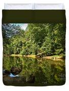 Slippery Rock Creek Duvet Cover